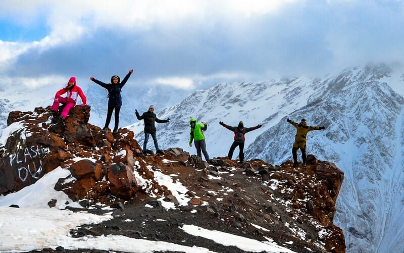 friends mountains